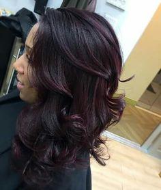 Eggplant Hair Effortless Color Ideas Shades Purple Designs Colored A Fan
