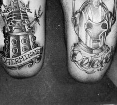 """50 """"Fantastic"""" Doctor Who Tattoos most are cool some are amazing!"""