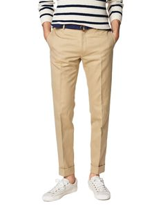 GQ.com: THE 9-TO-5: Gant RuggerCanvas Smarty Pants, $295Why It's a Winner: This is the standard:It's a slim, stylish pant you can wear everyday and never worry if you're looking sharp enough for a surprise meeting with the boss.How to Wear It:With a polo shirt or a simple button down.It'll even smarten up a white T-shirt on Casual Fridays..