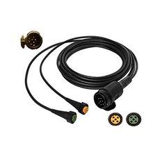 Kabelfixierung f/ür Kabel bis /Ø 15 mm FKAnh/ängerteile 10 x Kabelschelle