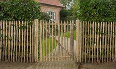 Portails et portillons de jardin : le bois de châtaigner dans les portails et portillons | Castanea