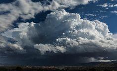 storms arrive …