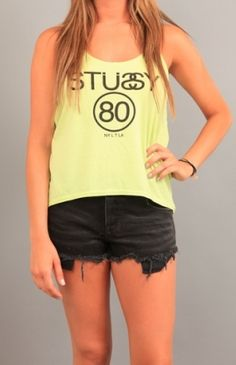 Stussy Neoncentric Tank Use Code STASH20 for 20% OFF #clothing #apparel #teeshirt #tank #tops #Stussy
