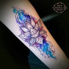 Image result for watercolor female calf tattoo