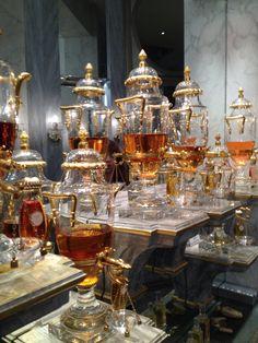 Caron Perfumery Boutique Urn Bottles, Paris | Quintessence