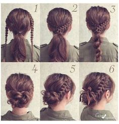 Wonderful Pics # fancy Braids for kids Braided updo hair tutorial Popular Have. Wonderful Pics # fancy Braids for kids. Braided Hairstyles Updo, Lazy Hairstyles, Trending Hairstyles, Little Girl Hairstyles, Braided Updo, Hairstyles 2016, Updo Hairstyle, Popular Hairstyles, Everyday Hairstyles