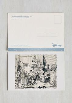 The Art of Disney Notecard Set | Mod Retro Vintage Desk Accessories | ModCloth.com
