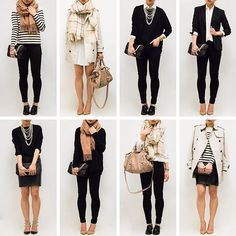The Ultimate Capsule Wardrobe: Basics - Fast Food & Fast Fashion | a personal style blog