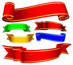 ücretsiz vektör Çeşitli şeritler afiş vektör şeritler