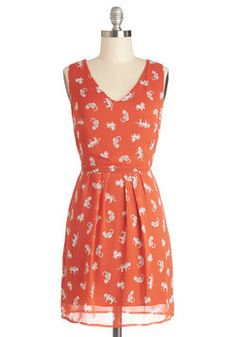 Claws and Effect Dress, #ModCloth
