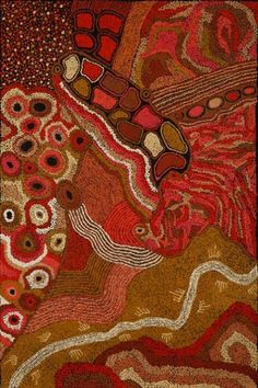 Ngintaka Tjukurpa (Perentie Man Creation Story) by Rini Tiger