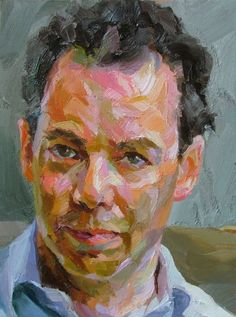 Paul Wright Wright Archive - Paul Wright A man from Oxford/2 - Oil on copper