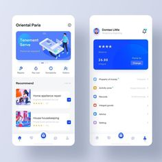 Property management service APP by Cao Hao Dribbble Dribbble Web Design, Design Social, App Ui Design, Wireframe Mobile, Mobile App Ui, Ui Kit, Apps, Design Android, Design Thinking