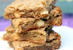 Butterscotch Blondies - Real Recipes from Mums