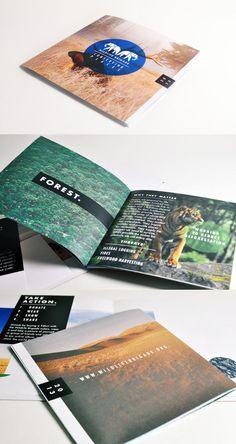 WildLife Brigade Brochure Design 2013