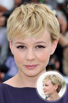 How to style the Pixie cut? Despite what we think of short cuts , it is possible to play with his hair and to style his Pixie cut as he pleases. Oval Face Pixie Cut, Layered Pixie Cut, Pixie Cut Blond, Pixie Cut With Bangs, Pixie Cut Styles, Best Pixie Cuts, Medium Hair Styles, Short Hair Cuts, Short Hair Styles