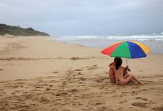 Nudists on a KwaZulu-Natal beach have been warned to keep their cozzies on - for now.