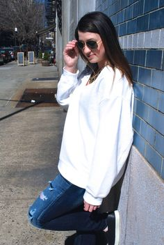 Spring Into White | Fashion - As Told By Ash and Shelbs