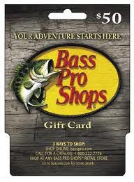 $50 Bass Pro Shops gift card Giveaway from Bex Built A Family!
