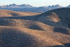 Prehistoric Trackways National Monument outside of Las Cruces, New Mexico