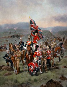 British armed forces, by Harry Payne British Army Uniform, British Uniforms, British Soldier, Military Art, Military History, Military Uniforms, Scottish Army, Military Decorations, Patriotic Images