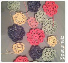 flores #crochet #crocheteando