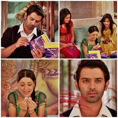 Arnav trying to make Khushi Happy & as always she finds joy in Little things .