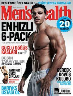 Men's Health 2014 Mart sayısı.