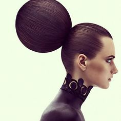 Editorial- geometric #hair design