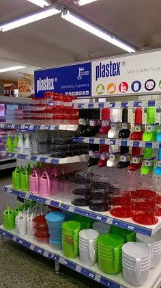 K-Marketissa Plastex hylly! :)