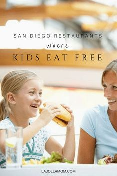 Kids eat free at these fantastic San Diego restaurants. via /lajollamom/ San Diego Attractions, San Diego Restaurants, California Getaways, California Travel, Eating Healthy At Restaurants, Travel Usa, Travel Tips, Luxury Travel, Budget Travel