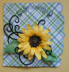 Selma's Stamping Corner and Floral Designs: Susan's Garden Sunflower