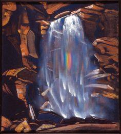 С.Н. Рерих. Радуга водопада. 1934. © Латвийский национальный художественный музей