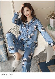 Pajama Outfits, Lazy Outfits, Fashion Outfits, Fasion, Cute Pajamas, Pajamas Women, Night Suit For Women, Blue Slim Fit Suit, Girl Power T Shirt