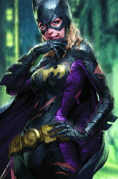 Steph as Batgirl