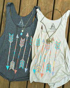 Blusas con flecha geniales para el verano