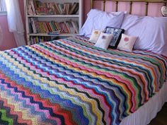 Neat Ripple pattern by Lucy of Attic24