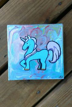 Check out this item in my Etsy shop https://www.etsy.com/listing/526478748/unicorn-wall-decor-hand-painted-unicorn