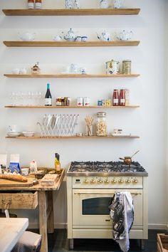 Einfache Küche Regal Design Idee