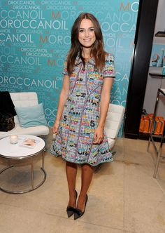 """With two films—""""The Imitation Game"""" and """"Laggies""""—hitting theaters soon and a seemingly endless calendar of appearances, the actress's red carpet routine has never looked better. See her best recent looks here."""
