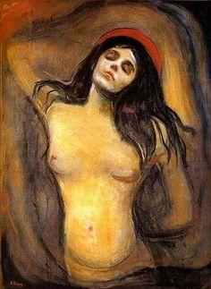 <p>« Madone » : peinture à l'huile sur toile.</p> -   JPEG - 44.5ko