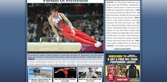 301: There is a 50/50 split between American and foreign-based stories on the front page. Interestingly, the main story is of a non-home athlete. The photos are all very neutral. The only photo which stands out is that of the Egyptian referee. Three of the photos are action shots and they are all taken during the athletes' performance. Two of the photos are full-body shots whereas Phelps' photo is a close-up of his face to help engage more with readers and Phelps' Olympic narrative.
