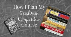 A break down of the books and articles today's college freshmen are reading in this English Composition course.