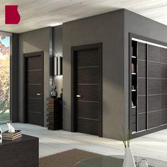 Door Design Interior, Interior House Colors, Wooden Door Design, Wooden Doors, Wardrobe Design Bedroom, House Doors, Dream House Plans, Exterior Doors, Colorful Interiors