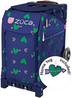 FREE SEAT CUSHION ZUCA Bag KOI Insert /& Blue Frame w//Flashing Wheels
