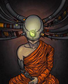 "Ознакомьтесь с этим проектом @Behance: «""Cybershambhala"" /«Кибершамбала» - mini comics» https://www.behance.net/gallery/60598705/Cybershambhala-kibershambala-mini-comics"