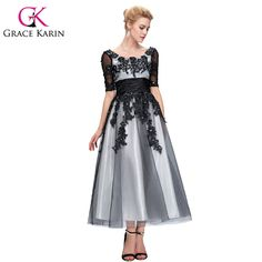 Cheap dress wave, Buy Quality dress people directly from China dress shop Suppliers:                Grace Karin Lace Evening Dresses Black Red Robe De Soiree Longue Long Mermaid Formal Speci