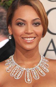 Lorraine Schwartz necklace worn by Beyoncé for 2009 Golden Globes
