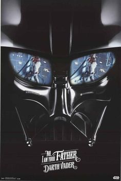 """A great Star Wars poster! Darth Vader tells Luke Skywalker """"I am your Father"""" in Episode V: The Empire Strikes Back. Fully licensed.Ships fast. 22x34 inches. Be a good Jedi and check out our great sel"""