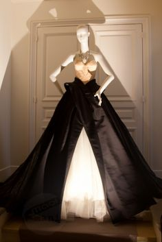 DIOR Dress in the House of Dior in Paris